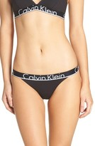 Calvin Klein Women's Logo Tanga Panty