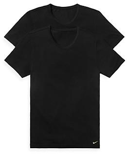 Nike Luxe Slim Fit Crewneck Undershirt, Pack of 2