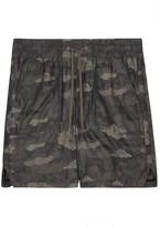Helmut Lang Camouflage Jacquard Shorts