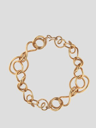 COMPLETEDWORKS Gold Interlock Chain Necklace