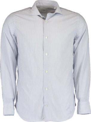 Eleventy Cotton Double Striped Shirt