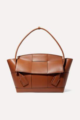 Bottega Veneta Arco Large Intrecciato Leather Shoulder Bag - Brown