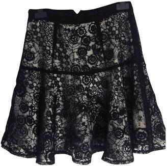 Carin Wester Black Skirt for Women