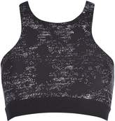 Seafolly Modern geometry black out high neck tank top