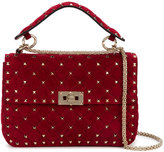 Valentino Medium Rockstud Spike Shoulder Bag - women - Suede/metal - One Size