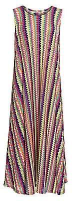 Pleats Please Issey Miyake Women's Melody Sleeveless Maxi Dress