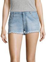 Stella McCartney Star Outline Cut off Denim Shorts