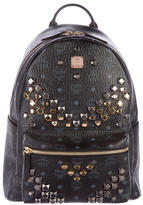 MCM 2017 M Stud Medium Stark Backpack w/ Tags