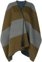 Piazza Sempione striped cape