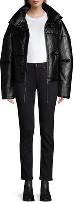 Apparis Camila Vegan Leather Puffer Jacket
