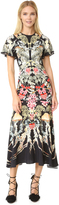 Temperley London Victory Print Dress