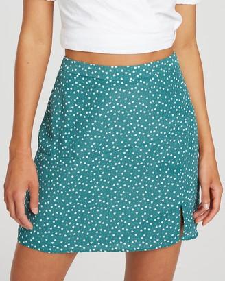 Cloud Nine Mini Skirt