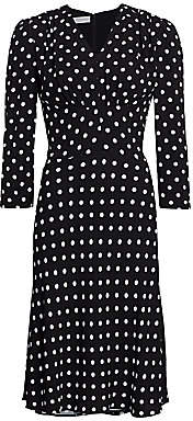 Michael Kors Women's Polka Dot Midi Dress