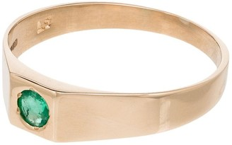 Loren Stewart 10kt Yellow Gold Emerald Ring