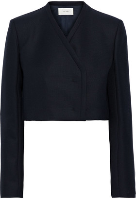 The Row Jabin Cropped Wool And Mohair-blend Jacket