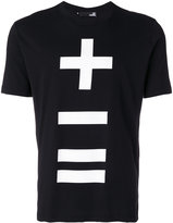 Love Moschino '+-=' branded T-shirt