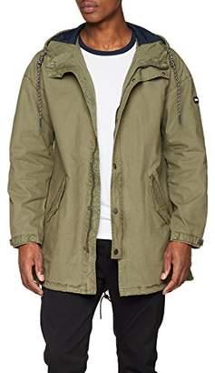 Tommy Jeans Men's Lightweight Parka Coat,Large