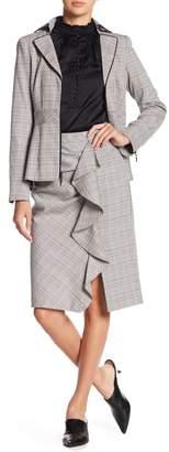 Nanette Lepore Playful Plaid Pencil Skirt