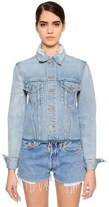 RE/DONE Destroyed Denim Jacket