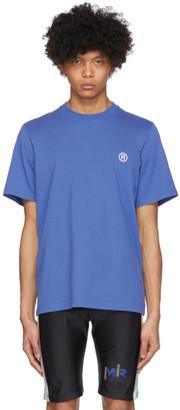 Martine Rose SSENSE Exclusive Blue Graphic T-Shirt