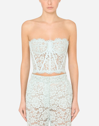Dolce & Gabbana Lace Bustier