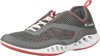 Columbia Women's Drainmaker-3D Water Shoes Grey (Ti Grey Steel Red Coral 033) 7.5 UK 40.5 EU