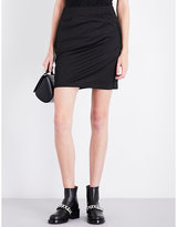 Givenchy Logo-detailed jersey mini skirt