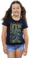 Star Wars Girls Yoda Rock Poster T-Shirt