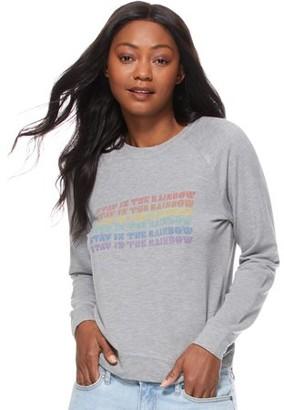 Scoop Stay in the Rainbow Sweatshirt Women's