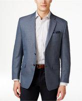 Lauren Ralph Lauren Men's Blue and Black Neat Classic-Fit Sport Coat