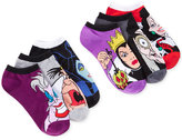 Disney Women's Assorted Villains No Show Socks 6 Pack