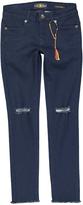 Lucky Brand Midnight Big Zoe Torn Jeans - Girls