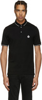 Dolce & Gabbana Black Crown Polo