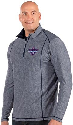 Big & Tall Antigua Washington Nationals Tempo Quarter-Zip Pullover