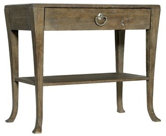 Bernhardt Rustic Patina 1 - Drawer Solid Wood Nightstand Color: Peppercorn