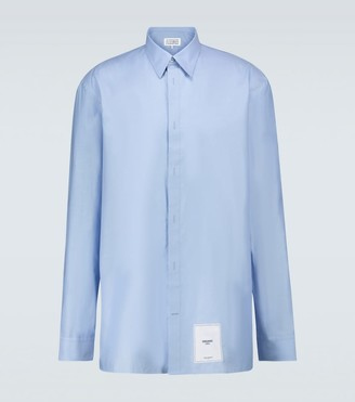 Maison Margiela Cotton long-sleeved shirt