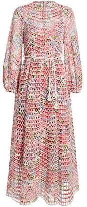 Zimmermann Poppy Eyelet Midi Dress