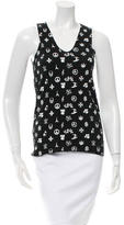 Lucien Pellat-Finet Printed Sleeveless Top