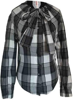 Vivienne Westwood Grey Cotton Top for Women