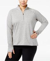 Nike Plus Size Dri-FIT Quarter-Zip Running Top