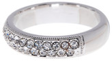 Nadri Crystal Embellished Band Ring - Size 6