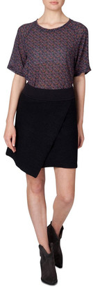 Skin and Threads Knitted Workwear Skirt