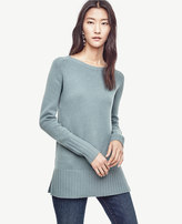 Ann Taylor Wool Cashmere Tunic Sweater