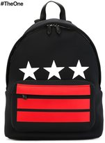Givenchy stars and stripes printed backpack