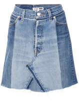 RE/DONE Denim Skirt - Blue - Size 25