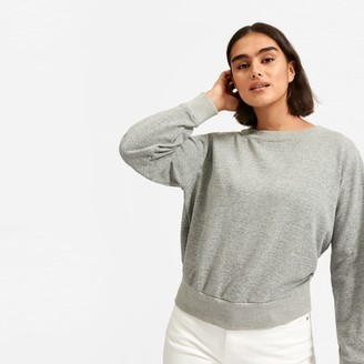 Everlane The Lightweight French Terry Pleat Sweatshirt