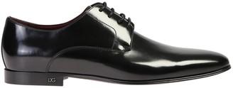 Dolce & Gabbana Black Positano Derby Shoes