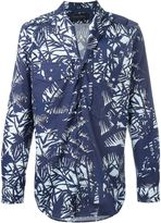 Christian Pellizzari patch pocket printed shirt