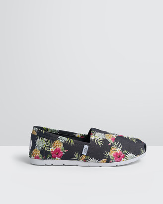 The Bondi Shoe Club - Women's Espadrilles - The Palm Beach Pineapples - Size One Size, 5 at The Iconic