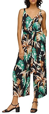 Whistles Tropical Floral Jumpsuit